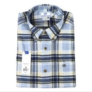 Southern Tide Shirt Classic Fit Long Sleeve Plaid